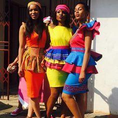sepedi traditional dresses 2017
