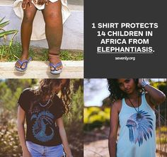 Just a few more days to purchase your Sevenly t shirt to protect lives in Africa! www.sevenly.org/END7