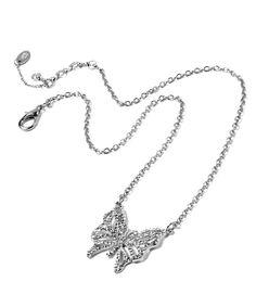 Take a look at this Amrita Singh Silvertone & Austrian Crystal Butterfly Pendant Necklace today!