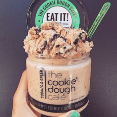"""Cookie dough ready to eat -- """"The Fresh Market""""sells these!!"""
