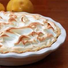 My Mom made the best lemon meringue pie.  Sundays after church, after  a big home cooked lunch, we would have it for dessert. She even made it for me when I was sick.
