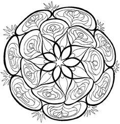Mandala kleurplaten.. Zie fotoalbum - 50plusser.nl