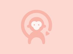 Berly of Monkeys Logo | Carli Papp Creative  #logo #design #icon