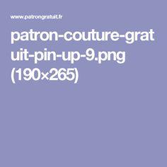 patron-couture-gratuit-pin-up-9.png (190×265)