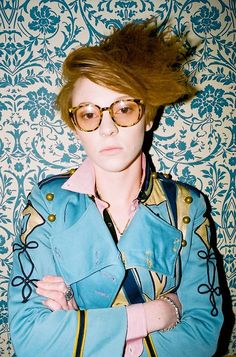LA ROUX. Well, Ellie Jackson actually. Love this ginger!