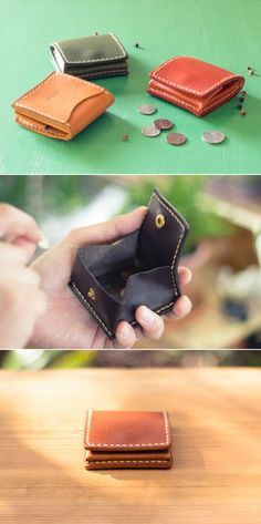 leather coin case   Duram Factory
