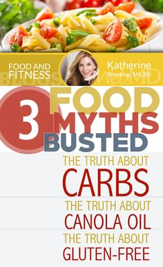 http://blogs.webmd.com/food-and-nutrition/2015/04/common-food-myths-busted.html?ecd=soc_pin_042815_blog_foodmythsbusted Many nutrition myths are started by someone who is trying to sell a product or who doesn't have a background in nutrition science, but when these myths go viral they're often treated like fact.