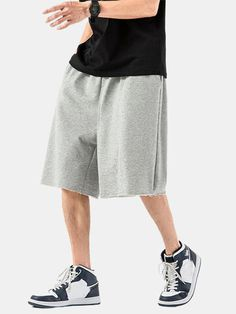 I found this amazing Mens Cotton Plain Breathable Drawstring Waist Straight Shorts With Pocket with US$27.99,and 14 days return or refund guarantee protect to us. --Newchic Lisa, Womens Fashion Stores, Make Money Now, Type Of Pants, Drawstring Pants, Shorts With Pockets, Clothes For Sale, How To Look Better, Underwear