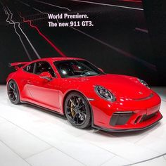 "1,292 Likes, 32 Comments - Global Motorsports Group (@gmgracing) on Instagram: ""So who's getting a 2018 Porsche 911 GT3 in manual? #Porsche #gt3 #porsche911 #gims2017…"""
