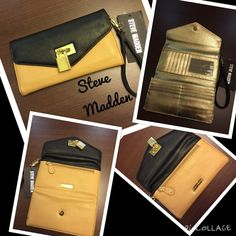 ❤️GREAT WALLET❤️Steve  madden 2 tone deal NWT Just in Steve Madden 2 tone wallet NWT Steve Madden Bags Wallets