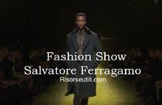 Fashion show Salvatore Ferragamo fall winter 2016 2017 menswear