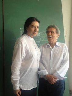 Marina Abramovic + Paulo Mendes da Rocha