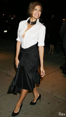 eva mendes - yes I'd rather you fail! SWEET! we'll do that then :)