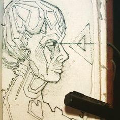 31.1.2019 #sketch #sketching #sketchbook #visionary #visionaryart #visionaryartist #psy #psychedelic #psychedelicart #acid #acidart #dmtart Acid Art, Visionary Art, Psychedelic Art, Sketching, Artist, Artists, Sketch, Sketches, Tekenen