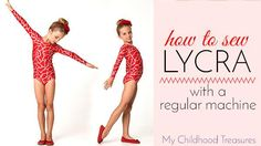 how to sew lycra