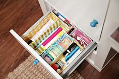 193DIY Cereal Box Drawer Dividers