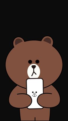 Line Lines Wallpaper, Brown Wallpaper, Bear Wallpaper, Kawaii Wallpaper, Wallpaper Iphone Cute, Wallpaper Backgrounds, Friends Wallpaper, Couple Wallpaper, Rilakuma Wallpapers