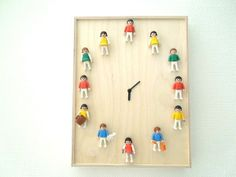Clock directions in other language but you get the idea. My grandson is into legos maybe use those figures.