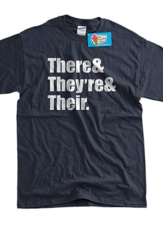 There They're and Their Grammar School Book Screen by IceCreamTees, $14.99