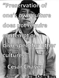 Take control of your mind & Educate yourself. Cesar Chavez, Mexican-American farm worker, later labor leader and activist.
