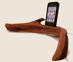 iPhone Charging Station by Dock Artisan -one day i will have this