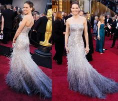 Hilary Swank in Gucci Premiere at Oscars, 2011