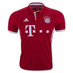 16-17 Bayern Munich Home Thailand Fans Soccer Jersey