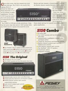 Peavey 5150 amps