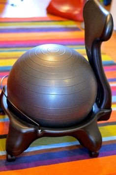 best homework chair ever... for wiggly, squirmy, active boys!