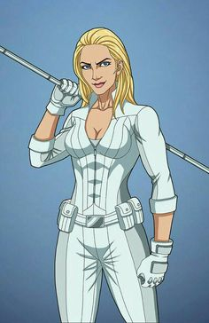 """""""White Canary"""" sponsored by GhostlyElegance for Roysovitch's project. Character belongs to DC Comics.FB page for Ear. Marvel Dc Comics, Dc Comics Super Heroes, Dc Comics Art, Comics Girls, Marvel Vs, Marvel Heroes, Superhero Characters, Dc Comics Characters, Character Poses"""