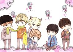EXO manga | deviantART: More Like EXO for Halloween: 1st batch (colored) by ...