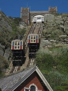 Ride the cliff railway at Hastings