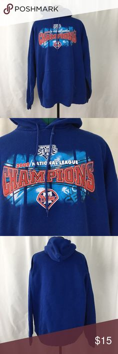 NFL World Series champions Phillies hoodie Pre-loved. In good condition. Shows sign of wear. Genuine Merchandise Shirts Sweatshirts & Hoodies