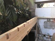 ENCAJES PARA EL TEJADO DE VIGAS LAMINADAS Outdoor Furniture, Outdoor Decor, Projects, Home Decor, Beams, Facades, Passive House, Radiators, Staircases