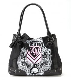 4bfaef50ce Metal Mulisha silhouette purse. Motocross Clothing