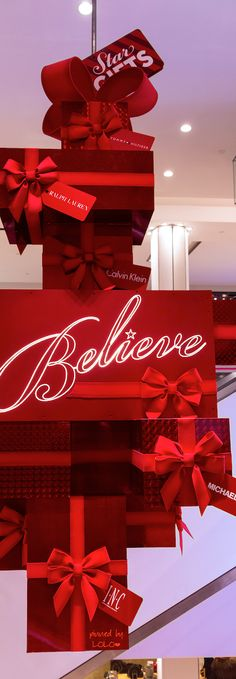 I HAVE TO BELIEVE THAT SANTA WILL BE BRINGING ME A SOUTH COAST PLAZA GIFT CERTIFICATE FOR CHRISTMAS! @southcoastplaza