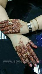 Explore latest Mehndi Designs images in 2019 on Happy Shappy. Mehendi design is also known as the heena design or henna patterns worldwide. We are here with the best mehndi designs images from worldwide. Latest Arabic Mehndi Designs, Rose Mehndi Designs, Finger Henna Designs, Henna Tattoo Designs Simple, Henna Art Designs, Mehndi Designs For Beginners, Unique Mehndi Designs, Wedding Mehndi Designs, Mehndi Designs For Fingers