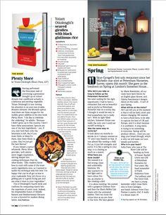 GQ magazine layout