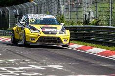 ETCC 2016: Fábio Mota lutou pela vitória em Nurburgring