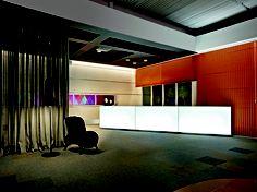 Lounge de entrada. Ambiente: Eduardo Faleiro | Fósforo Coletivo