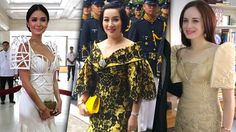 STARS AT SONA. Photos from Instagram and Rappler