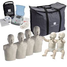 Prestan CPR Manikins and AED Trainer - The Complete Instructor Package   COMP-PK-PREST made by Prestan   CPR Savers and First Aid Supply