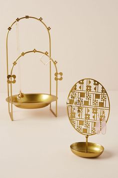 Discover unique jewelry boxes, jewelry stands and trinket dishes at Anthropologie, including the season's newest arrivals. Jewelry Display Box, Jewelry Stand, Display Boxes, Jewelry Holder, Room Wall Decor, Bedroom Decor, Bedding Decor, Bedroom Furniture, Bedroom Ideas