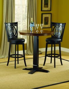 Shop a great selection of Hillsdale Dynamic Designs 3 Piece Pub Table Set Van Druas Stools. Find new offer and Similar products for Hillsdale Dynamic Designs 3 Piece Pub Table Set Van Druas Stools. Pub Table And Chairs, Pub Table Sets, Dining Room Sets, Dining Table, Kitchen Dining, Bar Tables, Bistro Tables, Room Chairs, Pub Height Table