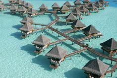 Hotel Intercontinental Le Moana Resort Bora Bora en Bora Bora, Polinesia