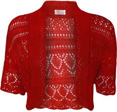 This Granny Crochet Shrug is a fabulous FREE Pattern and we've included Knitted versions too. You'll also love the Crochet Cardigan and the Lace Jacket!