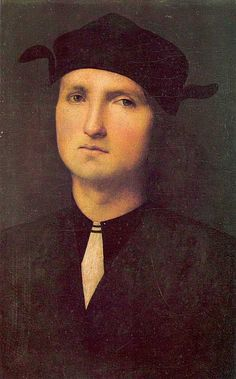 Portrait of a Young Man - Pietro Perugino.
