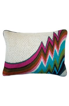 Jonathan Adler 'Jamaica Lane Bargello' Pillow | someday I will learn how to embroider like this!