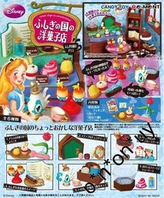 Re-ment Disney Rement Disney the Siwan Alice dessert house full of 6 - Taobao