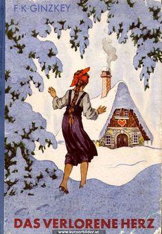 ernst kutzer - Google-søk Storybook Cottage, House Illustration, Literature Books, Cottage Homes, Illustrators, Painting, Cottages, Inspiration, Google